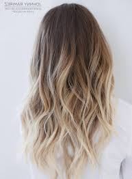 Light Brown And Blonde Hair Light Brown To Blonde Ombre Hair Women Medium Haircut
