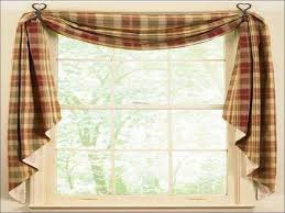 Tie Up Valance Kitchen Curtains Charming Design Rustic Kitchen Curtains Impressive Inspiration For