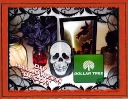 decorated halloween trees dollar tree diy 3 easy decor ideas for halloween youtube