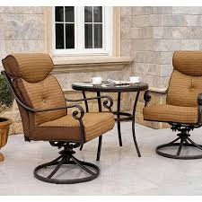 Outdoor Bistro Chair Pads Mika Ridge Bistro Set Replacement Cushions Garden Winds