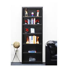 6 Shelf Bookshelf Prepac Espresso Open Bookcase Edl 3277 K The Home Depot