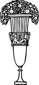 ornamental vase clip at clker vector clip