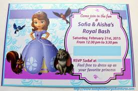 our sofia the first disney side party