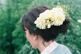 hair flowers archives the natural wedding company the natural