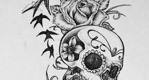 best 25 feminine skull tattoos ideas on skull best 25 pretty skull