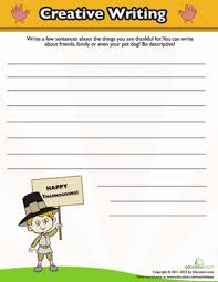 thanksgiving writing worksheet education