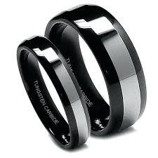titanium wedding band sets black titanium mens wedding rings titanium wedding ring sets for