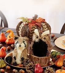 Fall Party Table Decorations - pumpkin fall festival banner party halloween bunting banners