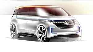 volkswagen van drawing vw budd e confirmed for production will arrive in about four years