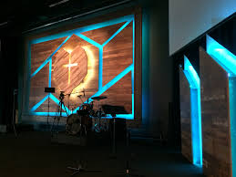 flooring material led tape church stage ideas pinterest