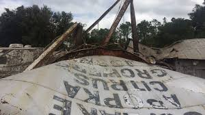 historic water tower in winter garden destroyed orlando sentinel