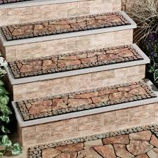 breathtaking outdoor home stair decoration introducing brick stair