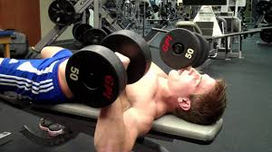 What Do Bench Presses Work Out How To Dumbbell Chest Press Youtube