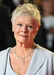 short curly hair cuts for women over 60 short pixie cut for mature women over 70 judi dench hairstyles