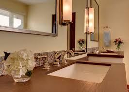 Mirrors Bathroom Vanity Brushed Nickel Mirror Bathroom Traditional With Bathroom Vanity