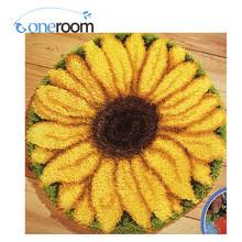 Latch Hook Rugs Popular Latch Hook Rug Kit Sunflower Buy Cheap Latch Hook Rug Kit