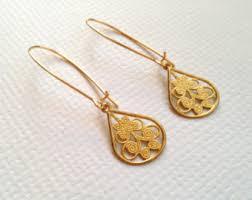 golden earrings golden earrings etsy