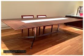 Wooden Boardroom Table Conference Creative Wood