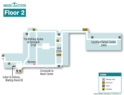 Maps Pain Clinic Springhill Medical Center Hospital Maps