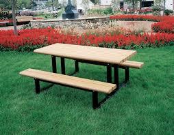 knock down picnic table plans park picnic table series