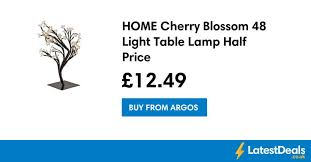 home cherry blossom 48 light table l half price 12 49 at