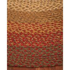 Pottery Barn Braided Rug by Area Rugs Oval Roselawnlutheran