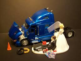 mechanic wedding cake topper auto mechanic truck wedding cake topper new peterbilt blue tractor