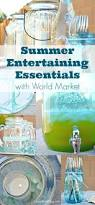 Summer Entertaining Ideas Summer Entertaining Essentials With World Market Summerfun A