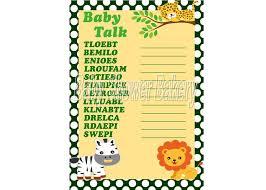 Free Printable Halloween Word Scramble by Baby Shower Word Scramble Game Printable Baby Shower Game