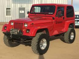 94 jeep wrangler for sale 94 jeep wrangler renegade 5 7 350 v8 auto 4x4 shackle reversal soa