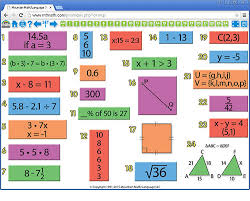 pre algebra math spiral review for interactive whiteboard