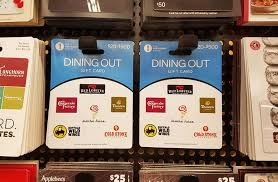 dining gift cards new gift cards usable at many stores no fees giftcards