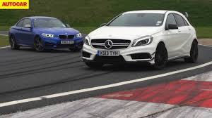 compact cars vs economy cars bmw m235i vs mercedes benz a45 amg which is the best driver u0027s car