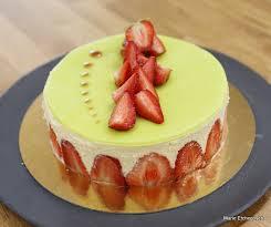 cuisiner avec un patissier le fraisier 4 ème épreuve technique le meilleur pâtissier saison 2