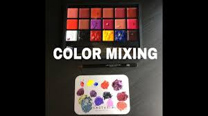 lexus beverly hills jobs color mixing using anastasia beverly hills lip palette