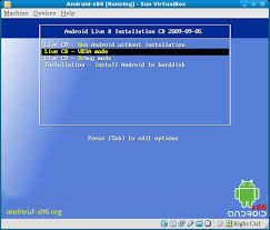 install android on pc how to install android or run as live cd on pc or netbook