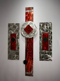 Decorative Metal Wall Clocks Metal Wall Art Sculpture Pendulum Clock Modern Abstract Decor