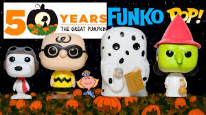peanuts halloween funko pop collection review it u0027s the great