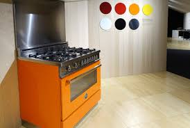 Italian Cooktop Bertazzoni Oven Ranges Are Painted Like Italian Sports Cars