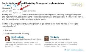 How To Add My Resume To Linkedin Uploading A Slideshare To Your Linkedin Profile Lisa Marie Dias