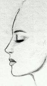 photos simple face sketch drawing art gallery