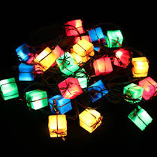 gift box led string christmas lights for party decoration us