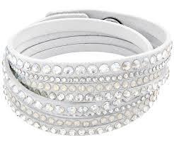 swarovski white bracelet images Slake white deluxe bracelet sale swarovski online shop jpg