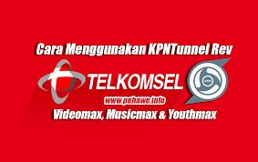 spoof host youthmax telkomsel cara setting kpntunnel rev videomax music dan youthmax pehawe
