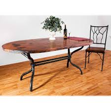 luxury hammered copper dining table 56 in interior decor home with