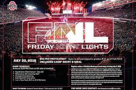 friday night lights ohio 2016 ohio state friday night lights visitors list land grant holy land