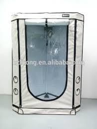chambre hydroponique nouveau triangle style haute qualité élèvent la tente matériel gris