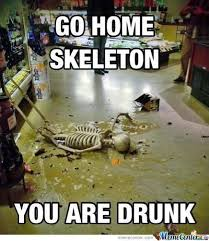 Skeleton Meme - go home skeleton by fudo akira meme center