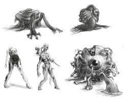 monster sketch 1 by zen is on deviantart