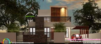 car porch modern design budget house with simple and elegant contemporary design kerala